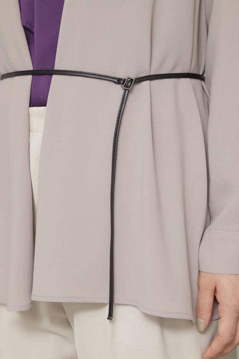 ベルト付トッパージャケット