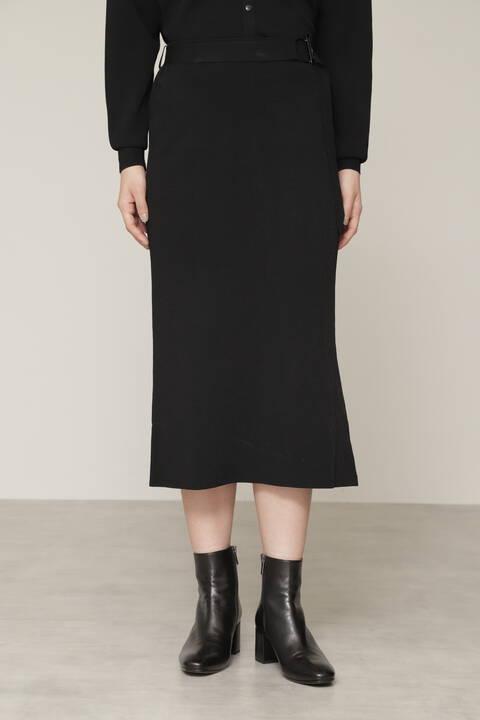 【良原安美さん着用】ヴィスコースナイロンニットスカート