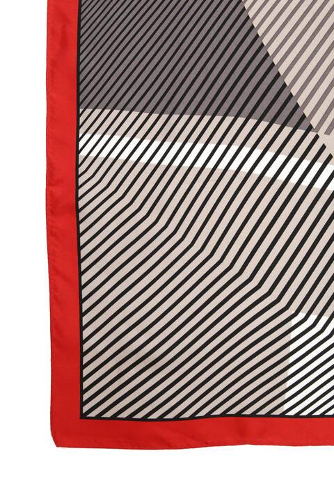ストライプキカスカーフ