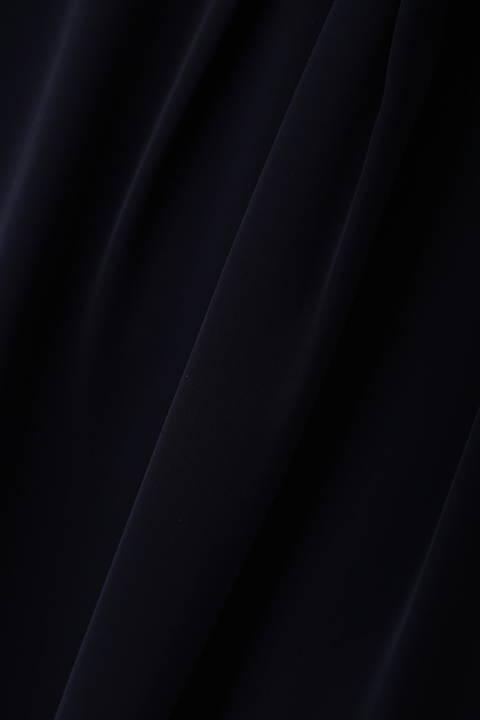 【夏目三久さん着用】[ウォッシャブル]ダルサテンブラウス
