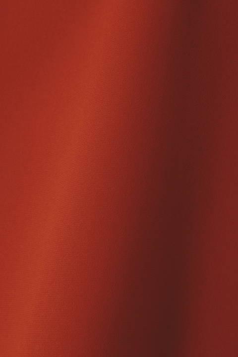 [ウォッシャブル]バックサテンンジョーゼットブラウス