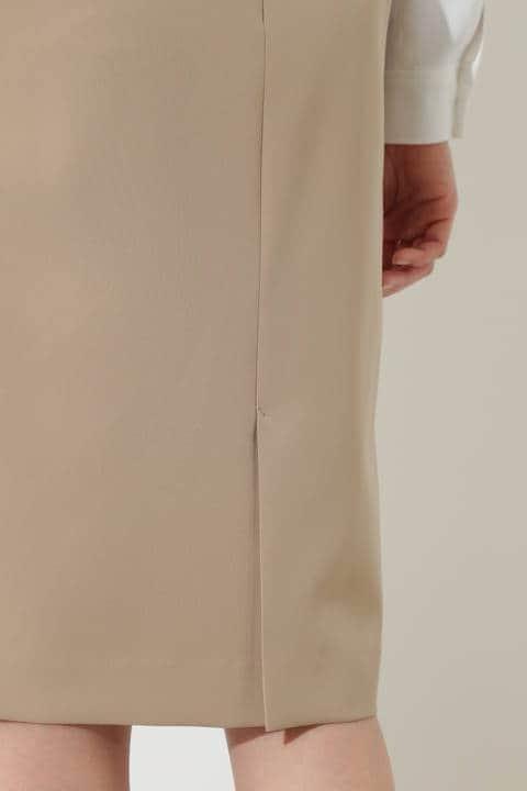[ウォッシャブル]エステル2WAYストレッチスカート