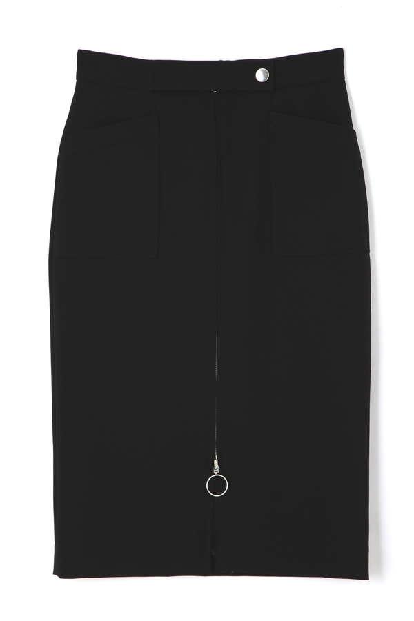 [WEB限定商品]2WAYダブルクロスタイトスカート