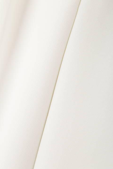 【宇賀なつみさん着用】[ウォッシャブル]シェルタリングツイルワイドパンツ