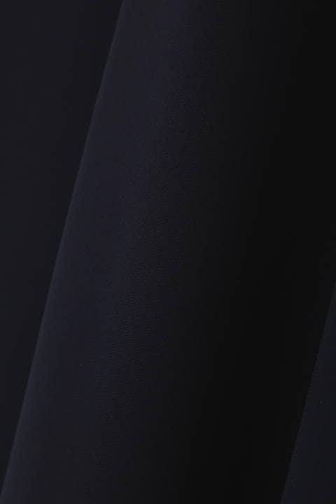 [ウォッシャブル]ダブルクロスワイドパンツ