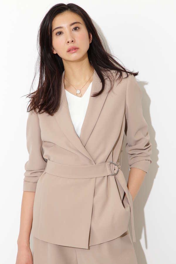 《B ability》ツイストツィルジャケット