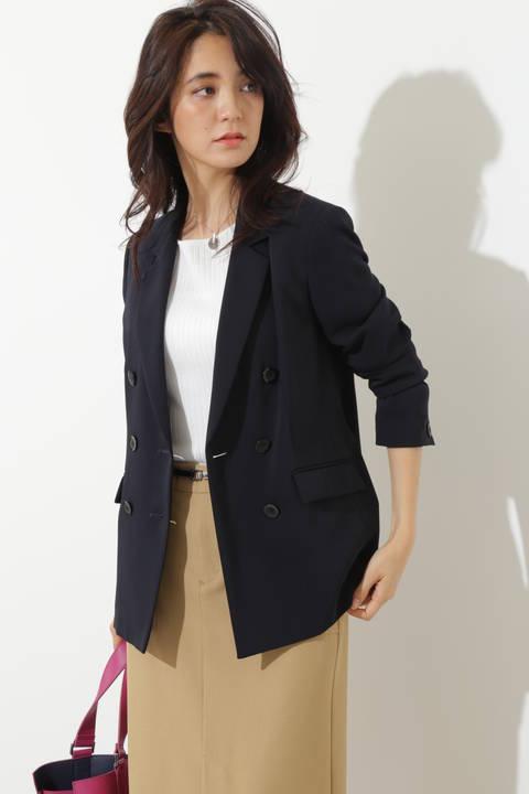 【Oggi 4月号掲載】エステルツイルジャケット
