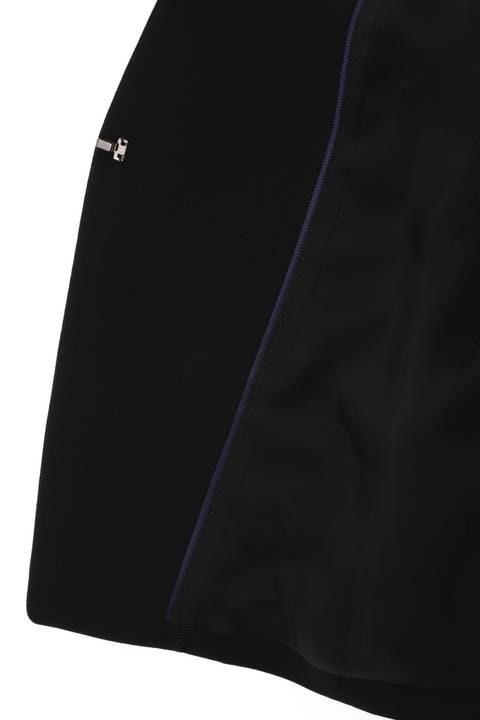 《B ability》クレープWクロス ノーカラージャケット
