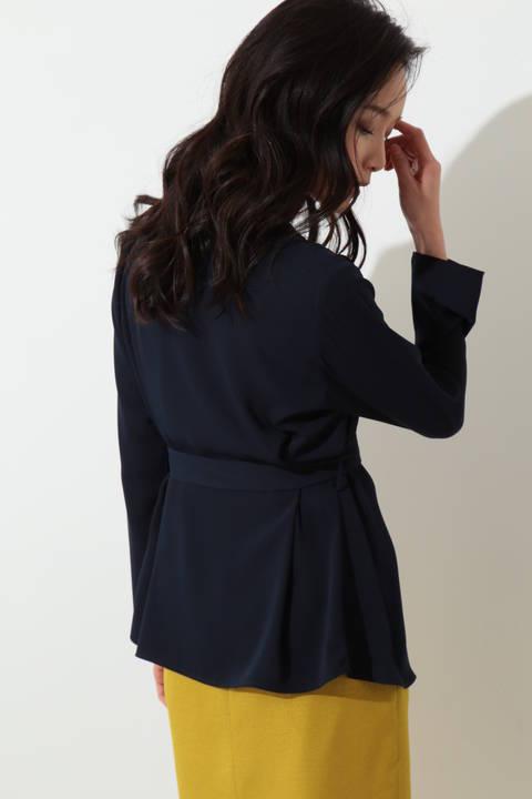 ◆ドラマ 瀬戸朝香さん着用◆[ウォッシャブル]マットサテンジャケット