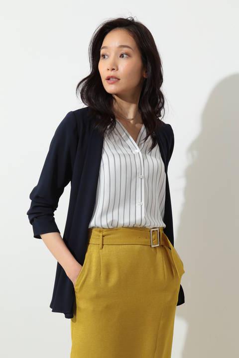 ◆ドラマ 瀬戸朝香さん着用◆マットサテンジャケット
