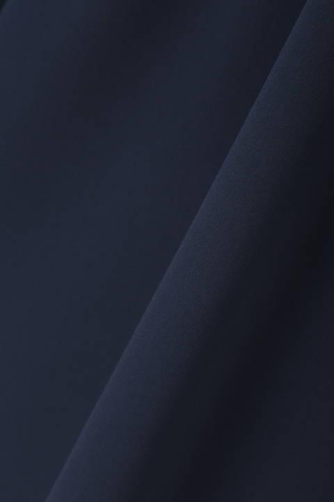 【CLASSY 11月号掲載】[ウォッシャブル]《B ability》梳毛調ダブルクロスセットアップ