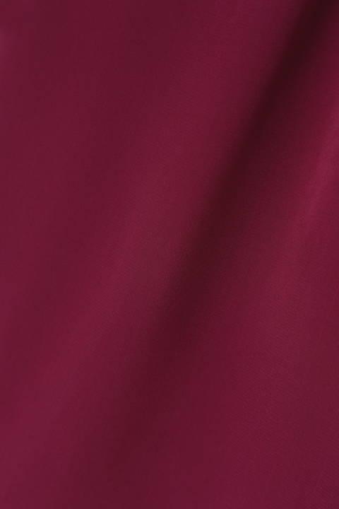 【水卜麻美さん着用】[ウォッシャブル]カスケードブラウス