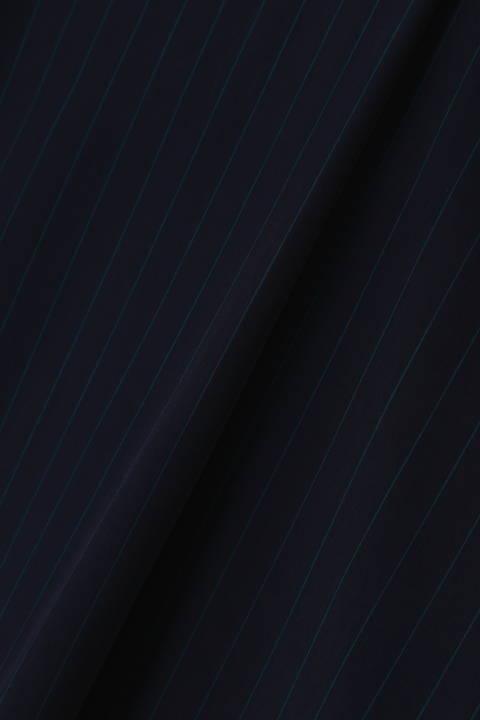 【水卜麻美さん着用】[ウォッシャブル]ストライプブラウス