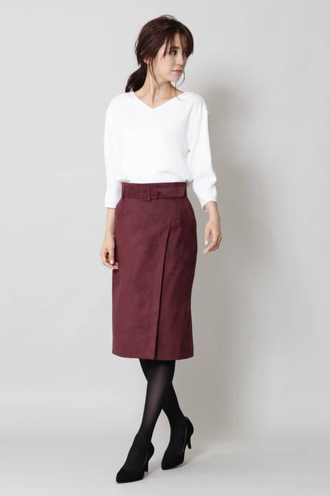 【ドラマ 中村アンさんが着用】タックスリーブサテンプルオーバー