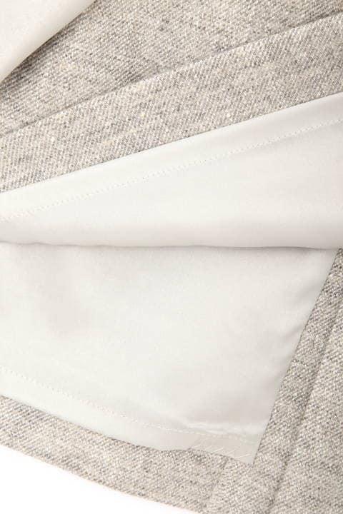【ドラマ 中村アンさん着用】《B ability》ネップツィードスカート