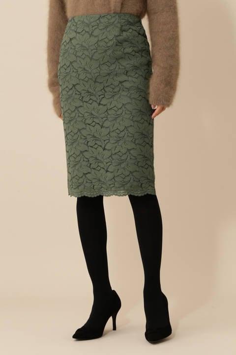 [WEB限定商品]《B ability》コードレースタイトスカート