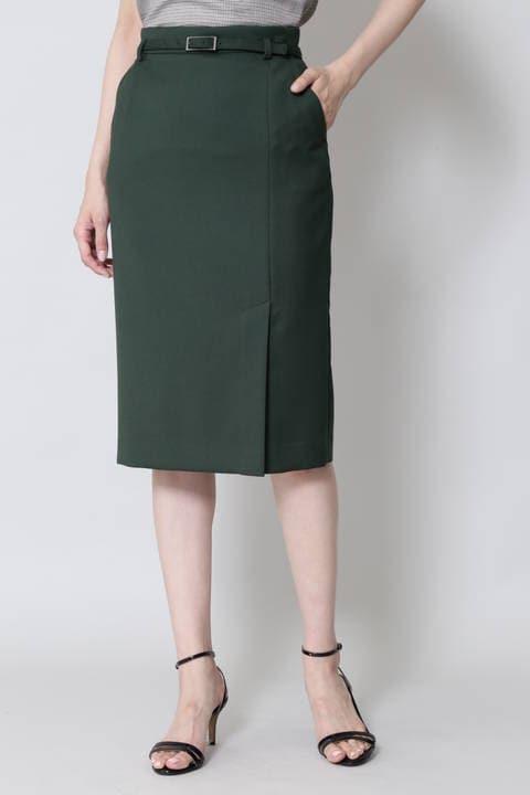 [ウォッシャブル]ライトダブルクロススカート