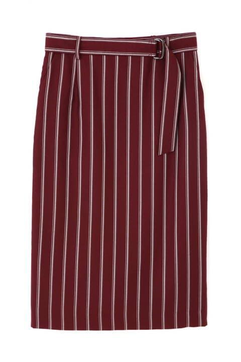 【先行予約 7月下旬 入荷予定】カレッジストライプスカート