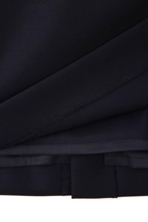 シルクウールギャバスカート