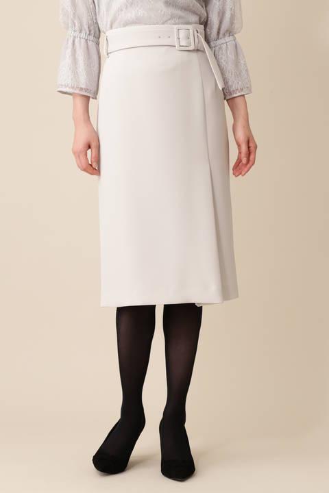 【中村アンさん着用】《B ability》Wサテンスカート