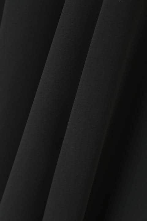 [ウォッシャブル]《B ability》タッセルベルト付サテンワイドパンツ