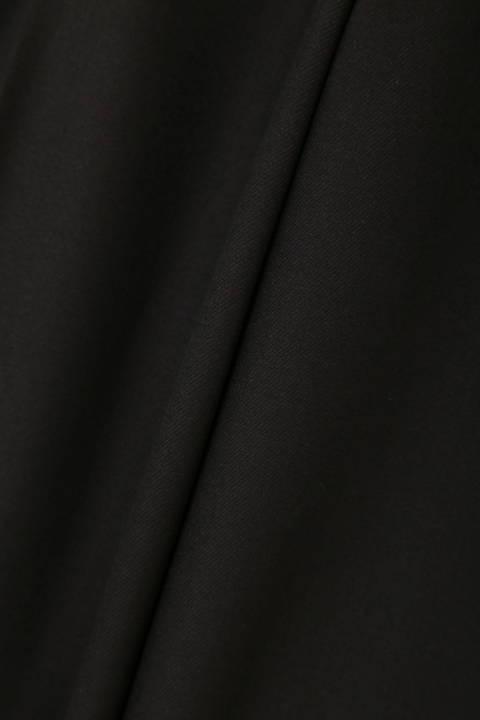 【CLASSY 11月号掲載】[ウォッシャブル]モイストウォームツイルワイドパンツ