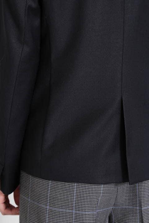 【ドラマ 木南晴香さん着用】シルクウールギャバノーカラージャケット