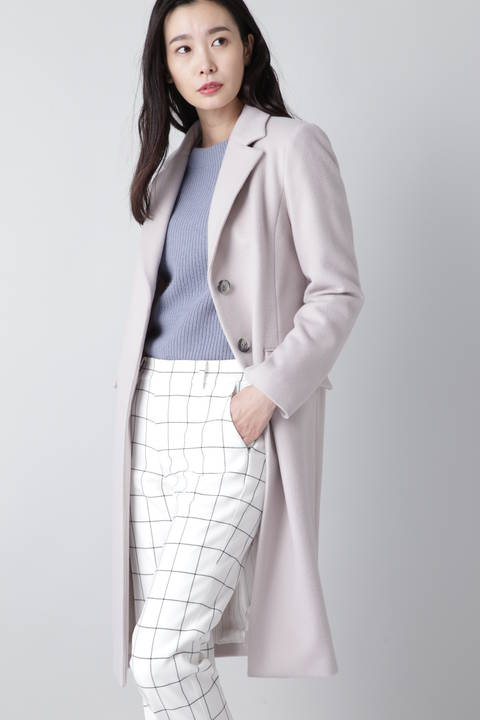 【ドラマ 米倉涼子さん着用】【CLASSY 11月号掲載】ウールビーバーコート