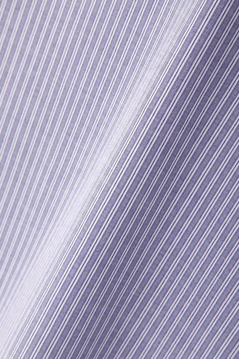 [WEB限定商品][ウォッシャブル]ストライプジャカードブラウス
