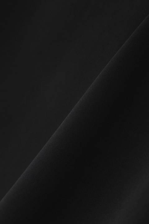 [ウォッシャブル]《B ability》アシンメトリーブラウス