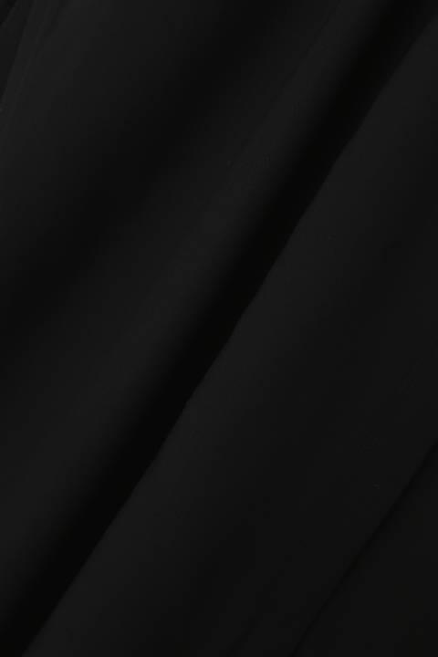 [ウォッシャブル]《B ability》Vネックロングブラウス