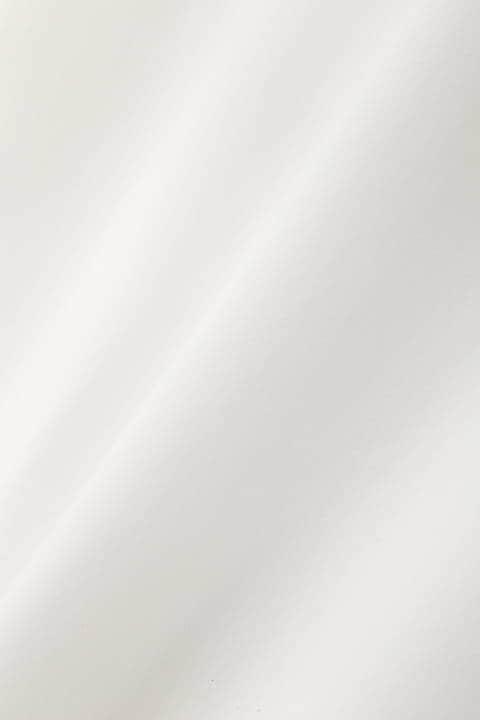 [ウォッシャブル]《B ability》ドレープバックシャンブラウス
