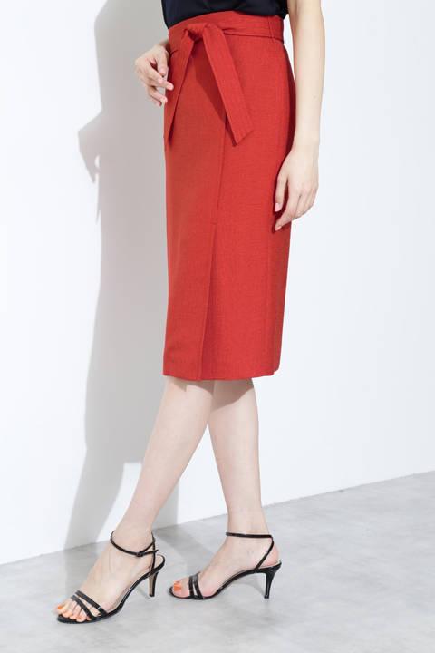 [ウォッシャブル]スラブオックスセットアップスカート
