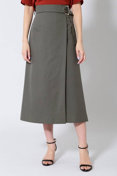【雑誌 Oggi 5月号掲載】《B ability》ベルト付ロングスカート