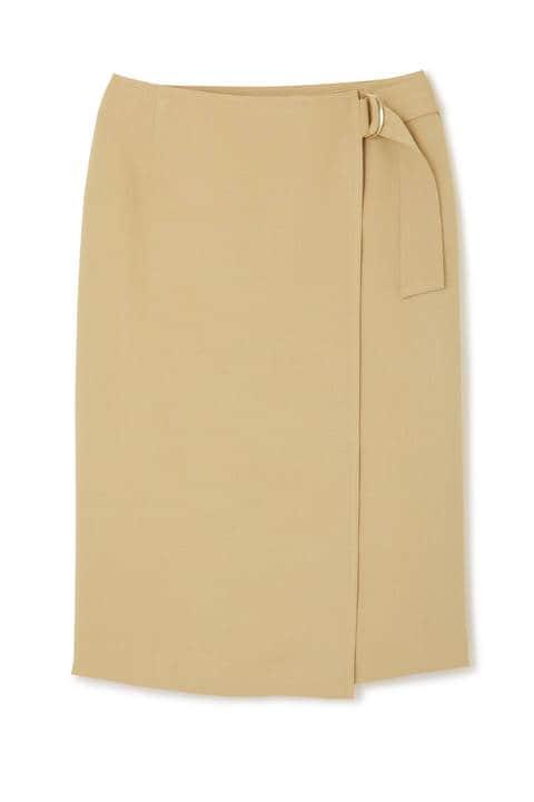 【先行予約 4月中旬-4月下旬 入荷予定】[WEB限定商品]《B ability》ラップタイトスカート