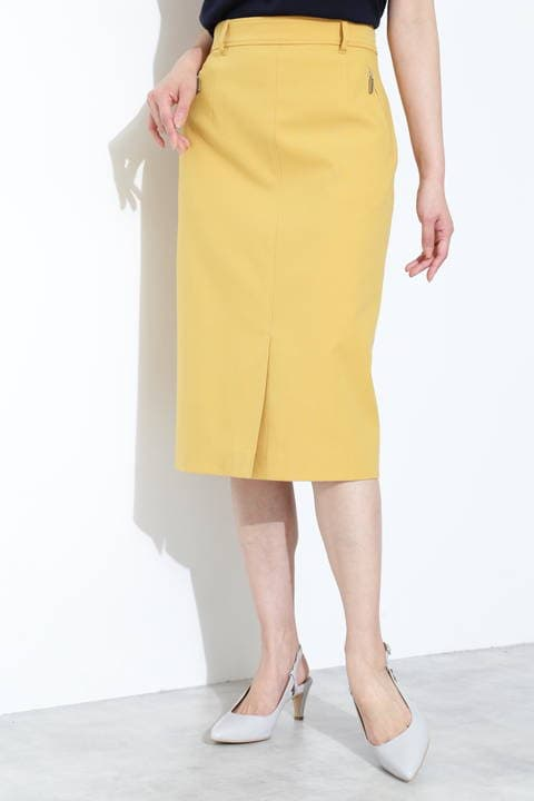 【雑誌 CLASSY 5月号掲載】[ウォッシャブル]トリクシオン綿麻オックス