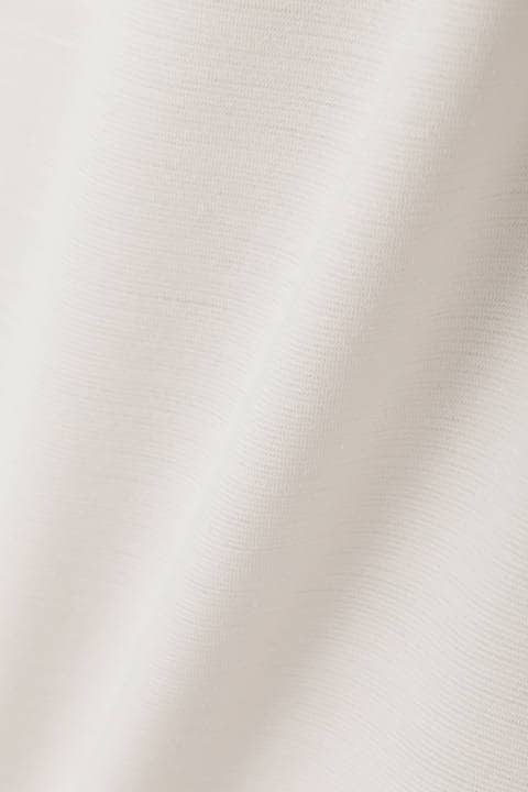 [ウォッシャブル]麻混ミラノリブセットアップスカート