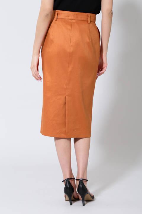 《B ability》麻混タイトスカート