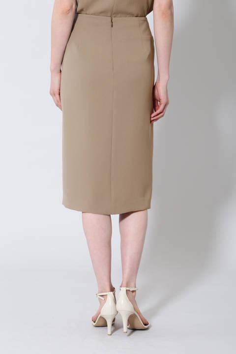《B ability》トリアセWクロスセットアップスカート