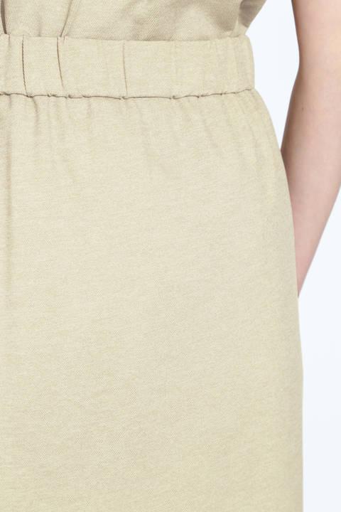 麻調ジャージースカート