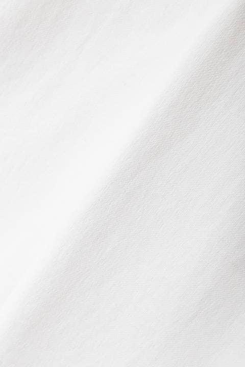 【雑誌 Domani 4月号掲載】[ウォッシャブル]麻混オックステーパードパンツ