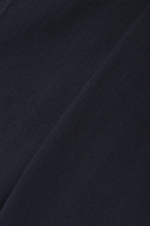 【雑誌 Oggi 5月号掲載】[ウォッシャブル]麻混オックステーパードパンツ
