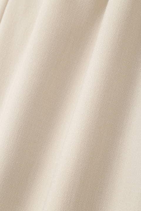 【ドラマ 内田有紀さん着用】【雑誌 Oggi 4月号掲載】《B ability》麻調ツイルセットアップパンツ