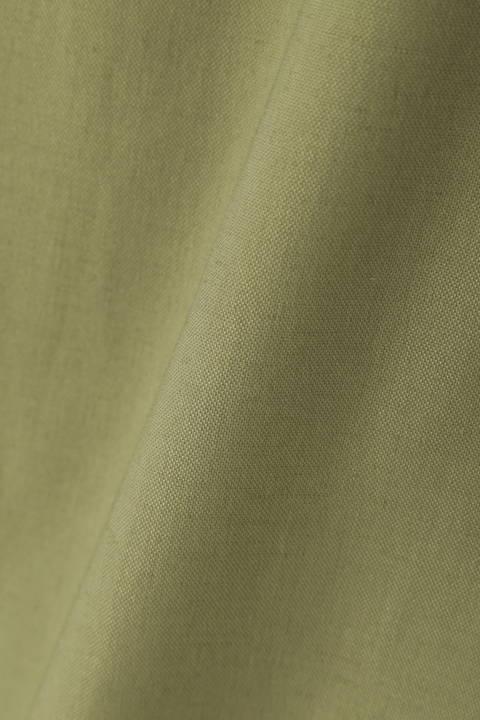[ウォッシャブル]トリクシオン綿麻オックスパンツ