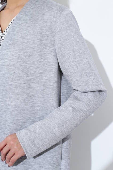 リヨセルストレッチトッパージャケット