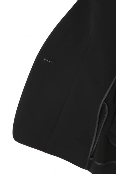 [ウォッシャブル]エステル2WAYストレッチノーカラージャケット