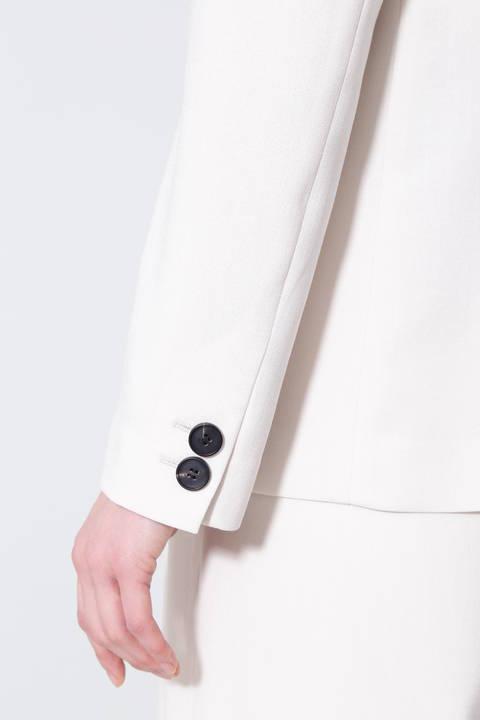 《B ability》麻調ツイルセットアップジャケット