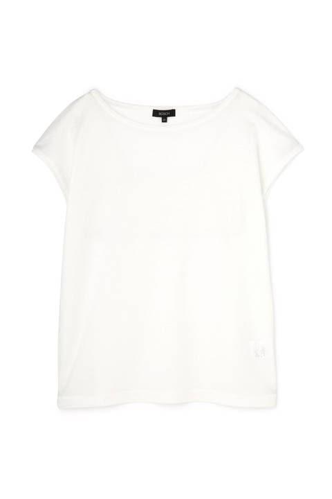 【雑誌 Oggi 5月号掲載】[ウォッシャブル]フレンチスリーブTシャツ