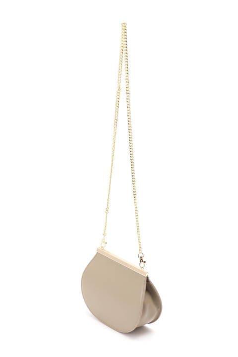 【雑誌 Oggi 5月号掲載】《B ability》本革半月型チェーンバッグ
