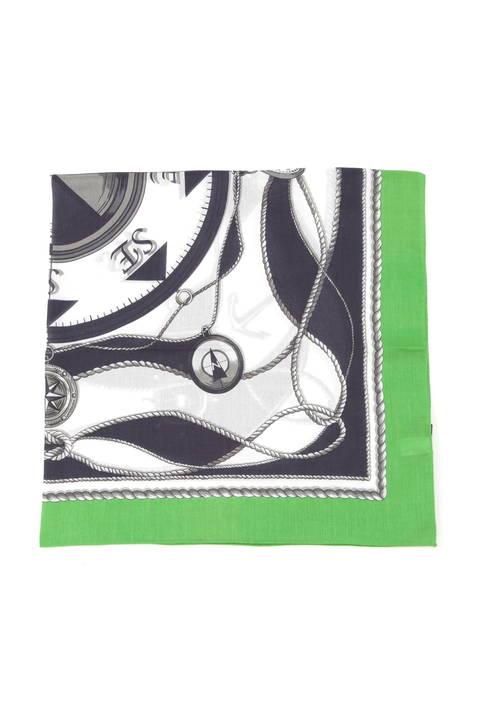 【雑誌 Oggi 5月号掲載】マリンプリントスカーフ